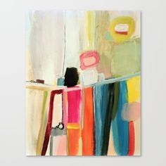 """In hindu, this means """"the one who brings hapiness""""...<br/> i hope that those forms and colors can change your state of mine!<br/> <br/> abstract in acrylic on wood support<br/> coloful, modern, fresh, actual, now,"""