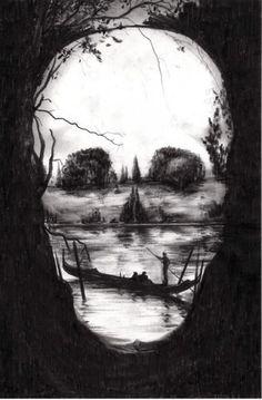 Skull in the Lake.