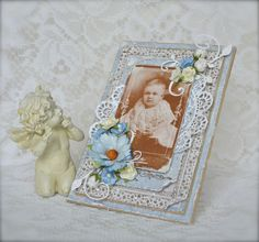 Cathrines hjerte. Stamps from Stempelglede and papers from Maja design