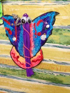 Beautiful Butterflies 2013 Grade 3, Beautiful Butterflies, Captain Hat, Butterfly, Hats, Hat, Butterflies, Caps Hats