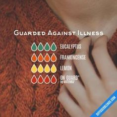 Guarded Against Illness - Essential Oil Diffuser Blend by lenora
