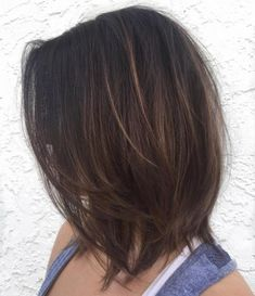 Layered Lob For Fine Hair