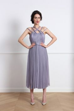Eleganta si romantism in noua colectie Parlor Fashion Journalism, Bridesmaid Dresses, Wedding Dresses, Tulle, High Neck Dress, Gowns, Silk, Formal Dresses, Collection