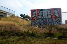 GATS Graffiti Red Fractal - East Bay, CA