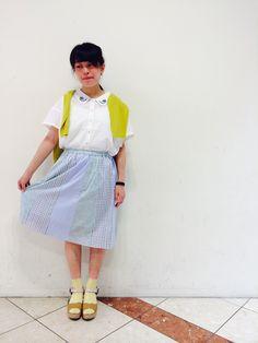 定番!!!えり刺繍ブラウスです*\(^o^)/* | HEP FIVE店 | POU DOU DOU ショップブログ