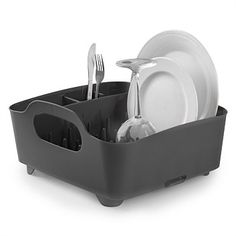 Cleaning Supplies & Tools - Briscoes - Umbra Tub Dishrack Smoke