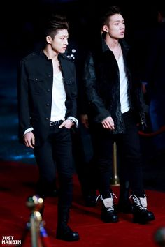 B.I & Bobby / oh they look so good *drooling*