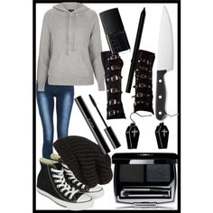Welp this is how to dress like Jeff The Killer for girls...I wanna wear this XD
