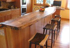 Wood Countertop Subway Tile Backsplash Me Likey Home
