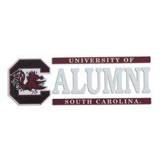 South Carolina Gamecock Alumni Decal