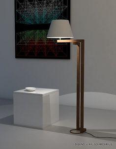 KAHOY & BAKAL Table Lamp Wood, Wood Lamps, Lamp Design, Lighting Design, Pedestal, Home Decor Shelves, Projector Lamp, Home Crafts, Floor Lamp