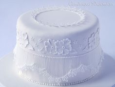 Royal icing, embroidery, extension work