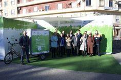 Servicio de mensajería sostenible en Valencia.