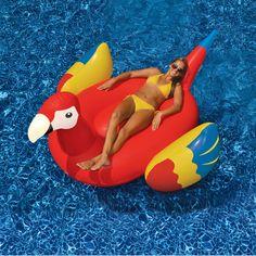 Giant Parrot Pool Lounger Set