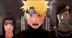Naruto, Haku, and Zabuza
