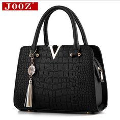 Cheap bag v, Buy Quality leather women bag directly from China designer women bag Suppliers: Crocodile leather Women Bag V letters Designer Handbags Luxury quality Lady Shoulder Crossbody Bags fringed women Messenger Bag Designer Purses And Handbags, Luxury Handbags, Fashion Handbags, Stylish Handbags, Women's Handbags, Cheap Handbags, Small Handbags, Chanel Handbags, Luxury Bags