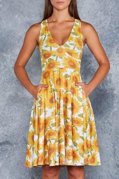 Sunny Days Midi Marilyn Dress - Weekend Sale, $130.00AUD