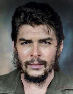 © Liborio Noval, ca. Portrait of Ernesto Che Guevara --- Who Was Che Guevara, Che Guevara Photos, Che Quevara, Pop Art Bilder, Wallpapers En Hd, Ernesto Che Guevara, Foto Poster, Robert Frank, Fidel Castro