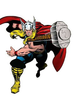 Thor Hq Marvel, Marvel Comics Art, Marvel Heroes, Comic Movies, Comic Books Art, Comic Art, The Mighty Thor, Marvel Characters, Comic Character