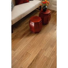 Bruce American Vintage Nat White Oak in. Thick x 5 in. W x Random Length Solid Scraped Hardwood sq. / - The Home Depot Engineered Hardwood Flooring, Vinyl Plank Flooring, Hardwood Floors, Oak Flooring, Flooring Ideas, Red Oak, White Oak, Armstrong Flooring, Oak Color