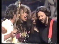 """Keith Richards, Eric Clapton, Tina Turner """"Keep A-Knockin' (But You Can'..."""