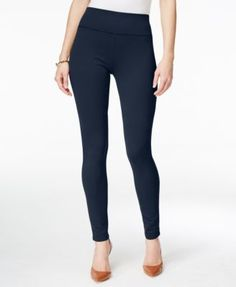 INC International Concepts Pull-On Ponte Skinny Pants, Only at Macy's  | macys.com