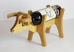 Винная стойка подставка для бутылки вина Корова/Бык