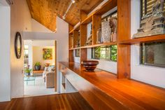 """The couple's house was """"inexpensive to build,"""" Steve Au told Yahoo Homes, """"which at the time was crucial to us, because in '75, we weren't earning a lot."""""""