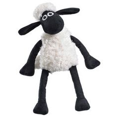 The medium Shaun The Sheep plush!  Just the right size for you!  You got a problem with that?