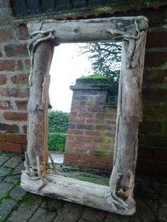 Driftwood mirror www.thedriftwoodartisan.co.uk