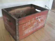 Crate Vintage Crates, Love Box, Pop Bottles, Toy Chest, Advertising, Boxes, Entertaining, Bar, Storage