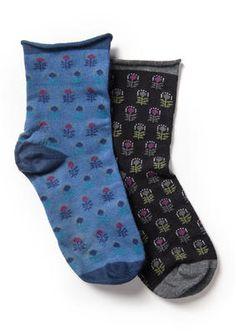 "Socken ""Majken"" aus Baumwolle/ Polyamid/Elasthan 55804-61d.jpg"