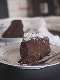 Vegan Dessert Recipes, Cake Recipes, Other Recipes, Sweet Recipes, Eat Happy, Good Food, Yummy Food, Christmas Party Food, Healthy Sweets