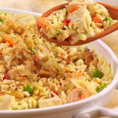 UNCLE BEN'S® Easy Rice Recipes   Country-Style Turkey & Rice Casserole