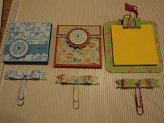 Card Corner by Candee: Take a Note . . .