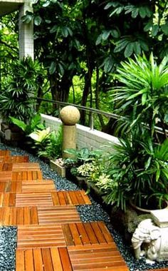 Bring peace to your garden with Zen lighting. | Garden Inspiration on small side yard ideas, kitchen ideas zen, small backyard landscaping zen, small backyard designs, small water ponds for backyard, small patio ideas, small pond ideas, small sheds for backyard, small gardens, small bathroom ideas zen, small backyard makeovers,