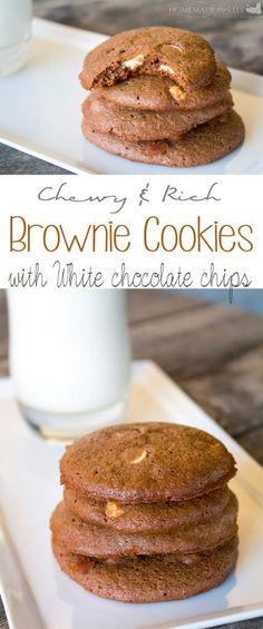 Homemade Brownie Cookies - Homemade and Happy