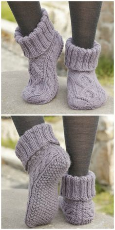 You'll love these Ladies Knitted Slipper Boots Patterns and they are easy to make and look great. Check out the cute collection of Free Patterns now. Top 10 Most Adorable Baby Hats – FREE KNITTING PATTERNS Knitting Blogs, Easy Knitting Patterns, Knitting Socks, Knitting Projects, Baby Knitting, Knit Socks, Knitting Ideas, Knit Slippers Free Pattern, Knit Headband Pattern
