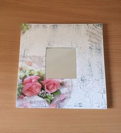 M Painted Frames, Decoupage Ideas, 3d Craft, Craft Club, Diy Frame, Paper Art, Crafts, Painting, Vintage