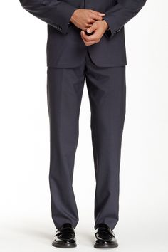 Gray Wool Suit Separates Pant - Multiple Inseams Available
