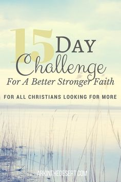 A Challenge to all Christians looking for more, for a stronger faith. Free Prayer Cards!