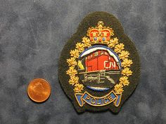 Canadian National Railways Police -  hat patch | eBay