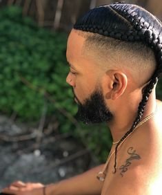 Hair And Beard Styles, Curly Hair Styles, Afro, Boy Braids Hairstyles, Undercut Long Hair, Braids For Boys, Shaved Hair Designs, Fade Styles, Classic Hairstyles