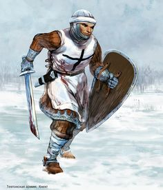 тевтонский орден Crusader Knight, High Middle Ages, Christian Warrior, Templer, Fantasy Warrior, Knights Templar, Fantasy Inspiration, Dark Ages, Historical Pictures
