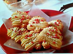 German Spritzgebaeck Cookies   	_    The German Spritzgebaeck cookies are traditional cookies in Germany.
