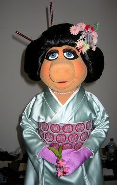 I Just Love Miss Piggy As A Geisha!