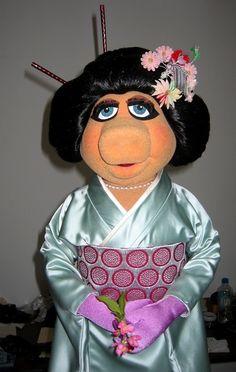 I Just Love Miss Piggy As A Geisha!