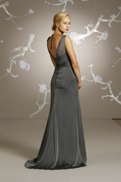 Back VIew Alvina Valenta Bridesmaids and Special Occasion Dresses Style AV9125 by JLM Couture, Inc.