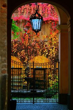 I've always loved images of doors, windows, and passageways.