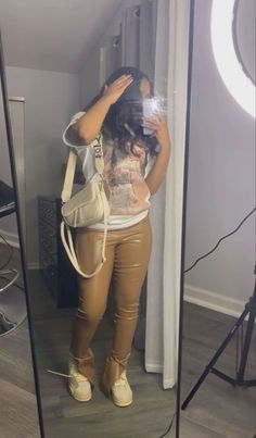 Swag Outfits For Girls, Cute Swag Outfits, Baddie Outfits Casual, Cute Comfy Outfits, Dope Outfits, Pretty Outfits, Teenage Girl Outfits, Boujee Outfits, Teenager Outfits